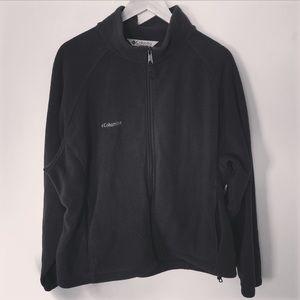 Columbia Women's Black Fleece Jacket 2X